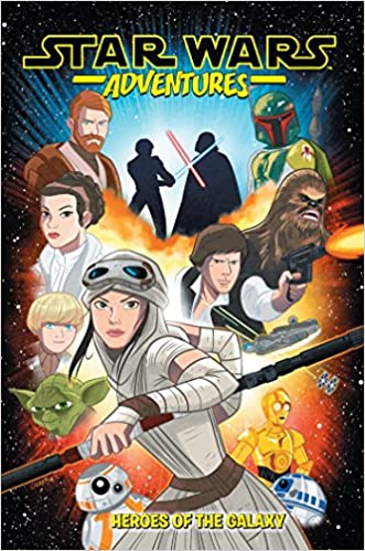 73d4ee61ea2715 Amazon.com  Star Wars Adventures Vol. 1  Heroes of the Galaxy  (9781684052059)  Landry Q. Walker