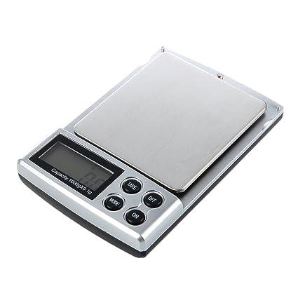 TOOGOO(R) 0.1-1000grams 0.1-1kg Mini Cocina Oficina Joyeria Electronica Digital