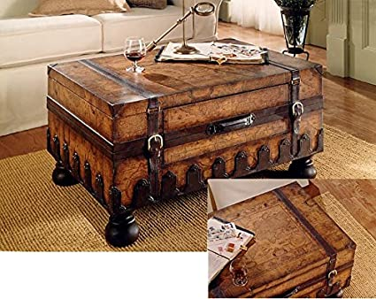 Butler Specialty 0576070 Trunk Coffee Table, Heritage
