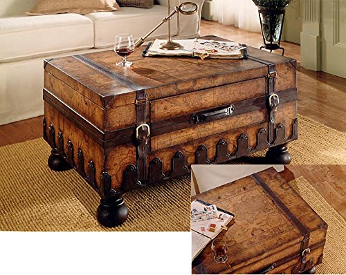 Butler Specialty 0576070 Trunk Coffee Table, Heritage ()