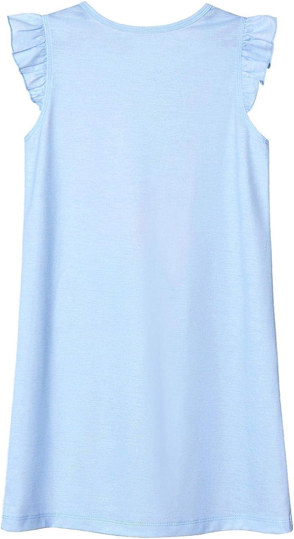 QPANCY Matching 18 inch Dolls/&Girls Nightgowns Unicorn Pajamas Night Dresses