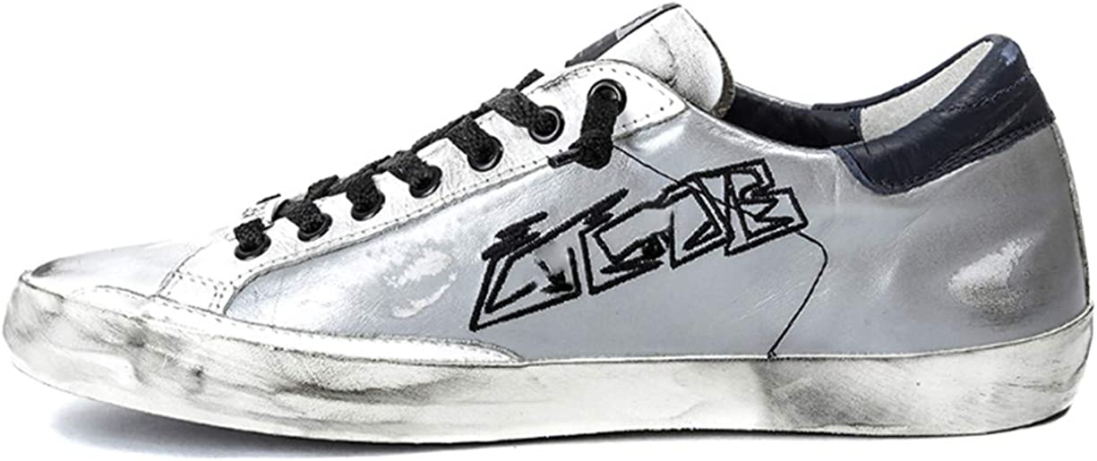 Golden Gooses Sneakers Chaussures Hommes Femmes Baskets Vintage Superstars Low Leather (37-46) EU Noir/Blanc/Or/Argent | Automne Hiver 19 02