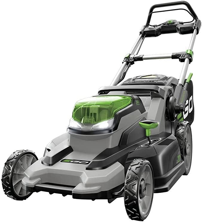 EGO Power+ LM2000-S 20-Inch 56-Volt Lithium-ion Cordless Walk Behind Lawn Mower - ​Best Battery Lawn Mower for Warranty