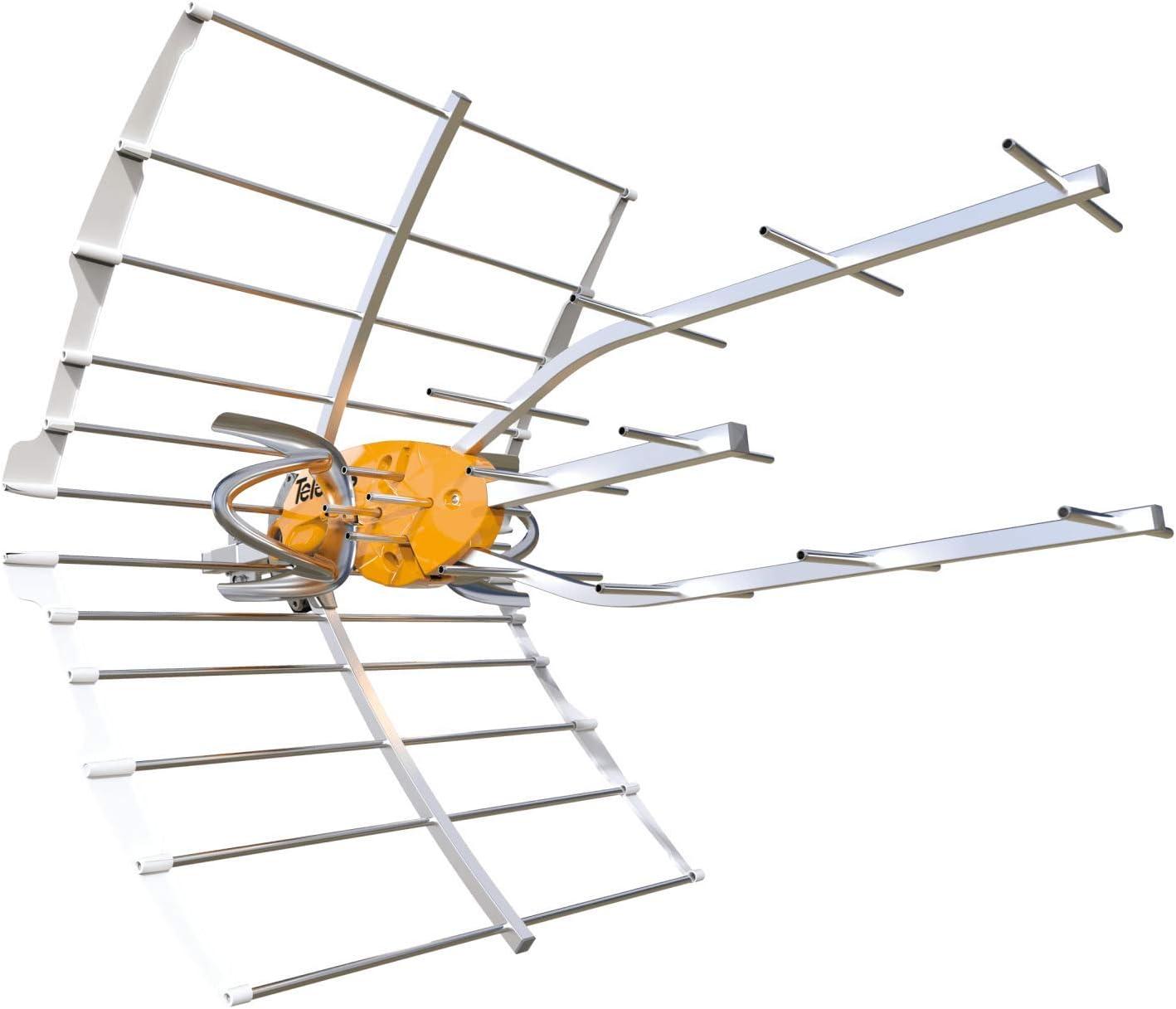 Antena TDT Ellipse LTE 5G (C21-48) 38dB + Alimentación: Amazon.es ...
