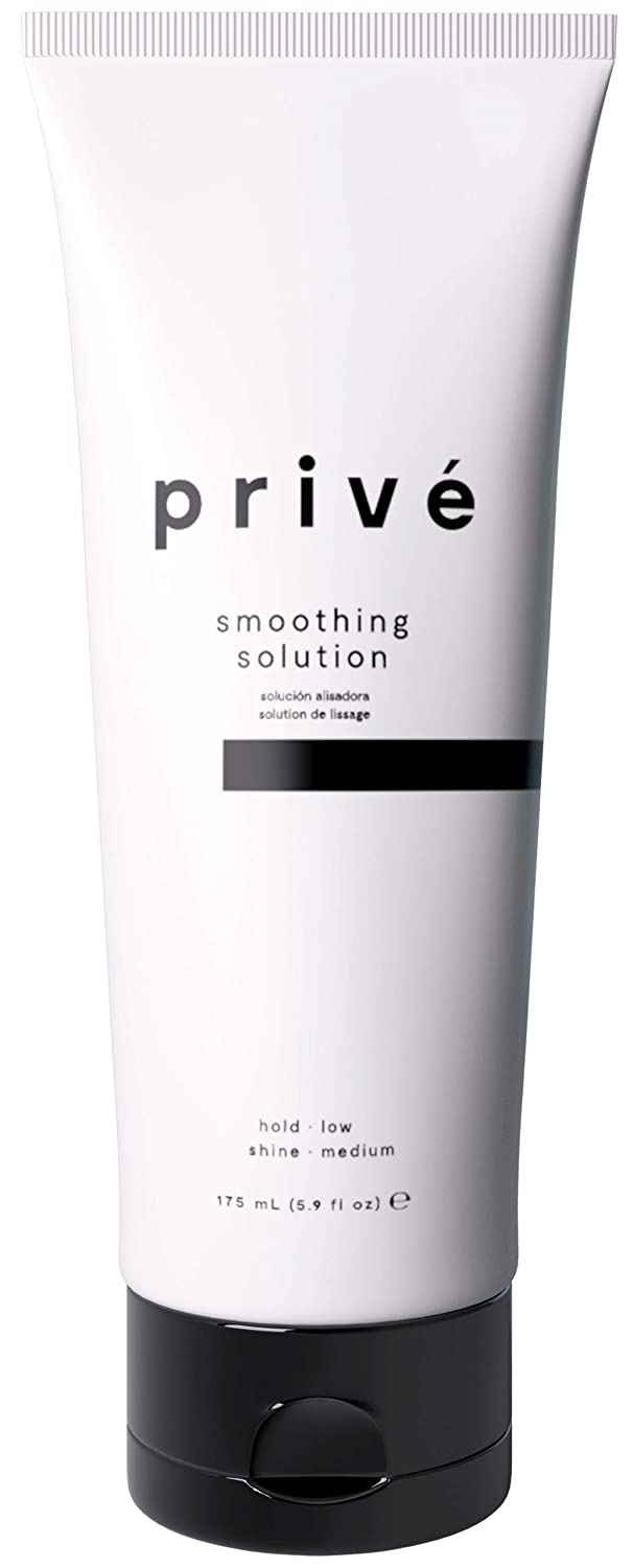 Privé Smoothing Solution (5.9 Fluid Ounces / 174 Milliliters) - Combat Frizz Creating a Sleek Finish for Straight, Defined and Soft Hair