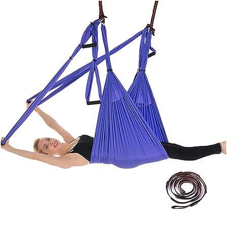YONGYONG-hammock Señora Aerial Yoga Hamaca 6 Anillos con ...