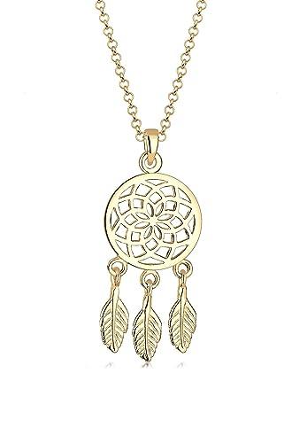 Elli Women's 925 Sterling Silver Xilion Cut Necklace of Length 45 cm b7uIIypjw