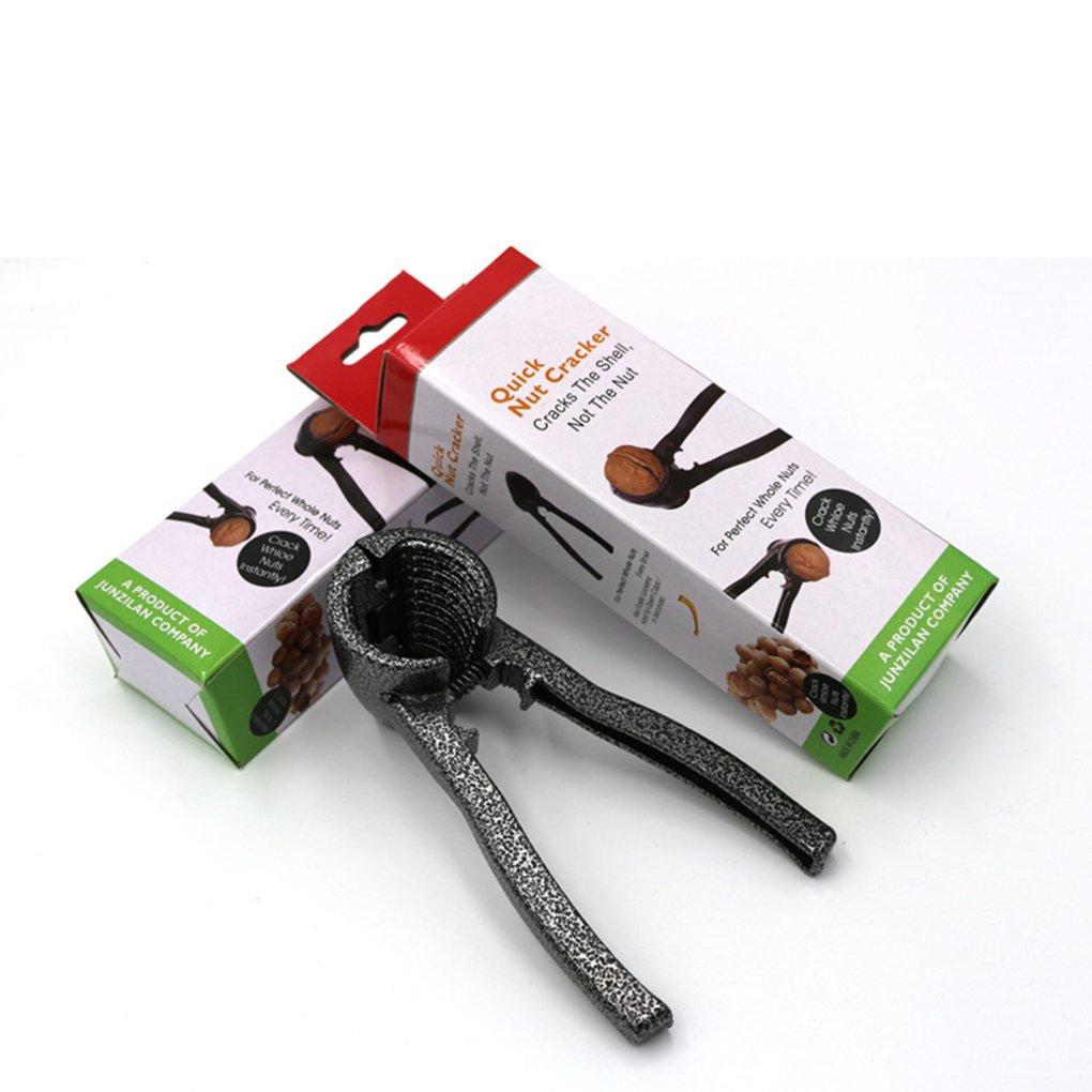 Sunlera Imbuto in Lega di Alluminio Cracker del Dado Schiaccianoci Multi-Function Sheller Pecan Cracker Metallo Strumento Opener Portable