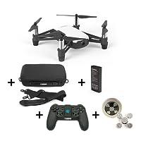 Ryze DJI Tello Holiday Package Drohne mit 720P Kamera, Tasche, Fernbedienung, Ersatzakku, DS24 Spinner