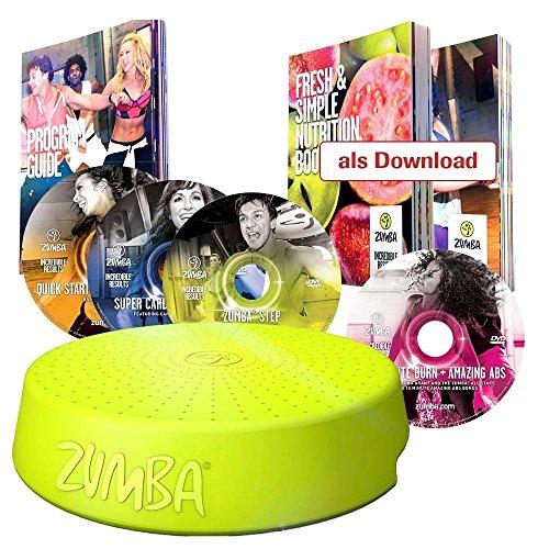 Zumba Fitness Tanz System mit Zumba Rizer und 4 Cds und vielen Extras - das Original von Mediashop