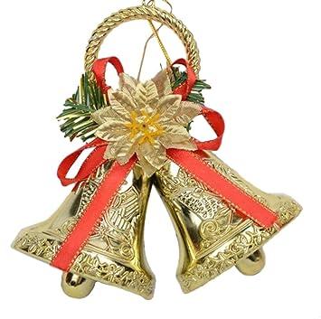 scrox 1pcs christmas jingle bells christmas tree hanging decorations christmas jingle bell for doorwall