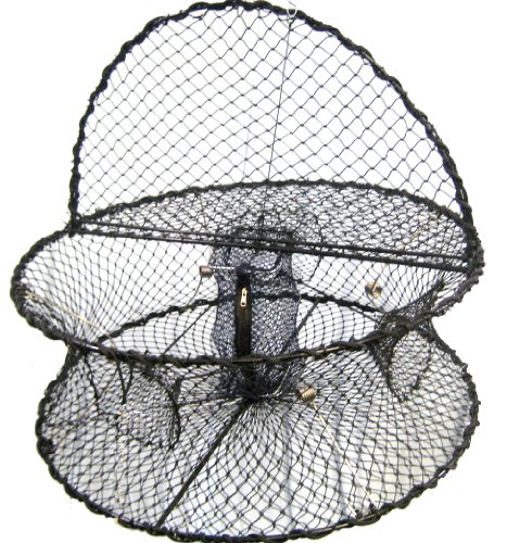 Shrimp Pot - Promar Collapsible Shrimp Pot  with Hinged Tending Door, 32-Inch