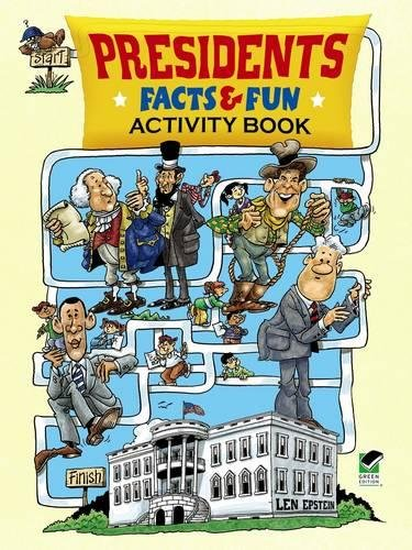 Presidents Facts and Fun Activity Book (Dover Children's Activity Books)