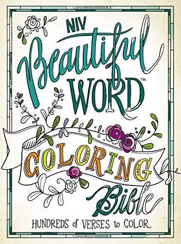 NIV, Beautiful Word Coloring Bible, Hardcover