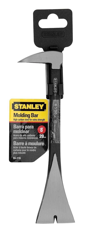 Stanley 55-116 Pied de biche griffes larges, Argent, 200 mm 0-55-116