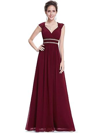 3aa6617a805b Ever-Pretty Women s Elegant V-Neck Sleeveless Formal Long Evening Dress  08697