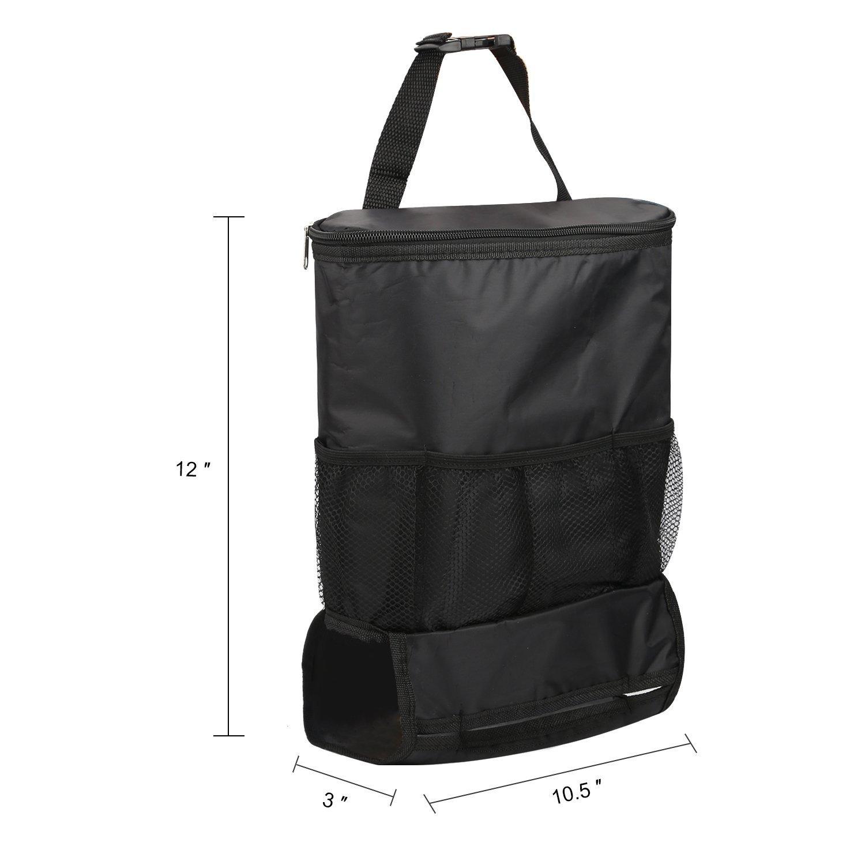 Folconauto multifunzione borsa isolamento auto sedile posteriore schienale Sie pacchetto Storage Bag picnic bag