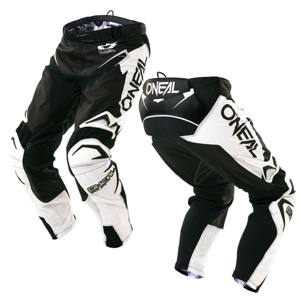O'Neal Mens Hardwear Pants Flow-True (Black/White, Size 38)