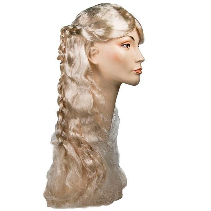 De juego de Daenerys de Juego de Tronos peluca para móvil Queen mural Blonde Cersei para mujer: Amazon.es: Ropa y accesorios