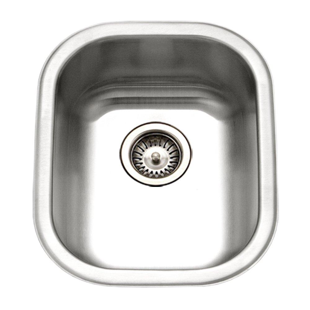 Houzer CS-1407-1 Club Series Undermount Medium Bowl Bar/Prep Sink