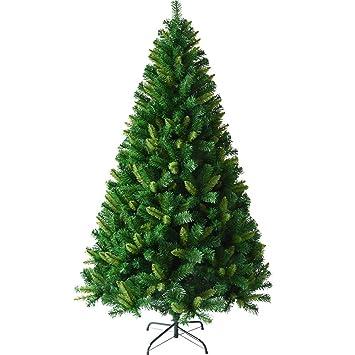 Künstlicher Weihnachtsbaum Outdoor.Mimi King Künstlicher Weihnachtsbaum Unbeleuchtet Umweltfreundlicher