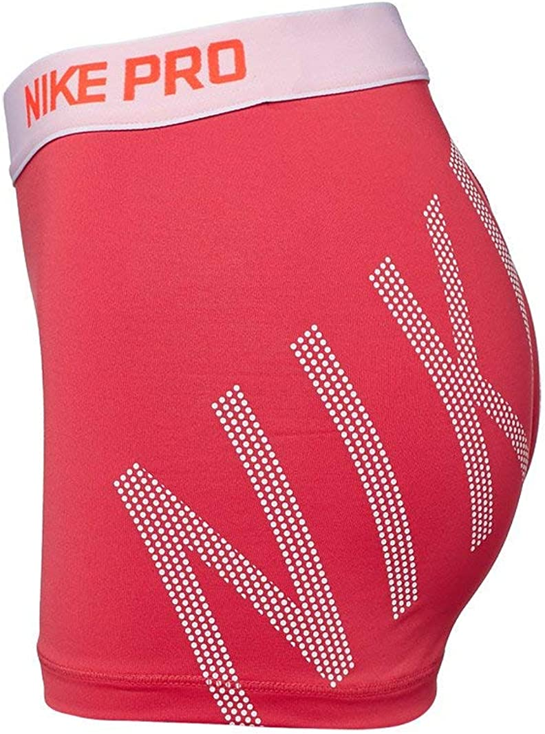 Nike W NP Cl 3In Logo Pantalón Corto, Mujer, Naranja (Ember Glow ...