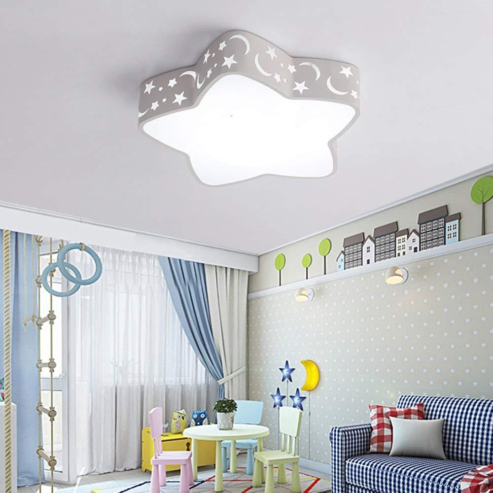 Creativas Plafones infantil Estrella Baby Ni/ños Star Dise/ño rom/ántica Focos/p Iluminaci/ón/de/techo/de/interior de Ni/ña Y Ni/ño Regulable habitaci/ón infantil l/ámpara de techo