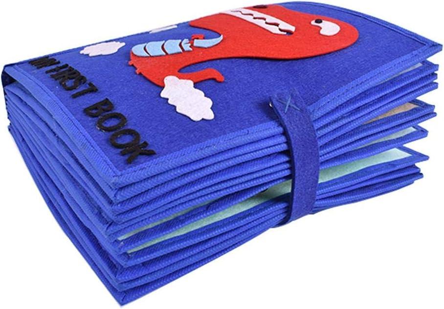 SUPERLOVE Baby Tuch Buch,Weiche Baby Tuch Aktivit/ät Crinkle Book Set Stoff Ungiftig Fr/üherziehung Spielzeug Dusche Geschenke f/ür Baby