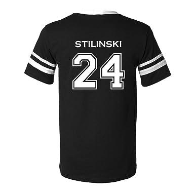 Amazon.com  Adult Teen Wolf Beacon Hills Stilinski 24 2-Sided Jersey ... 04d8ccced