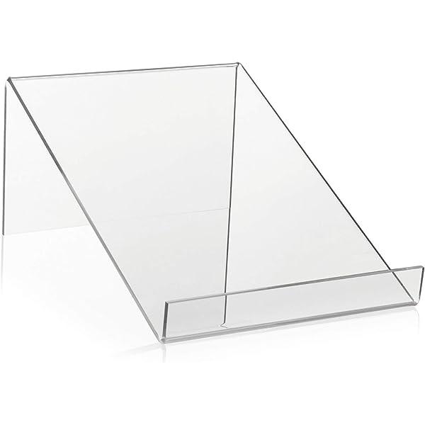 Support pour livre comme une Marchandise bretelles//Vente aide et /étag/ère livre schr/ägsteller en plexiglas/® Original Largeur 30.0/cm
