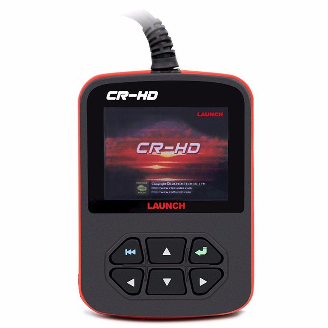 Launch x431 CReader CR-HD Heavy Duty Code Scanner Launch CR HD Truck Code Scanner