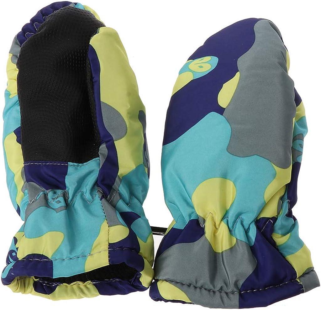 MEIYIN Baby Winter Waterproof Warm Mittens Boy Girl Kids Children Outdoor Ski Gloves