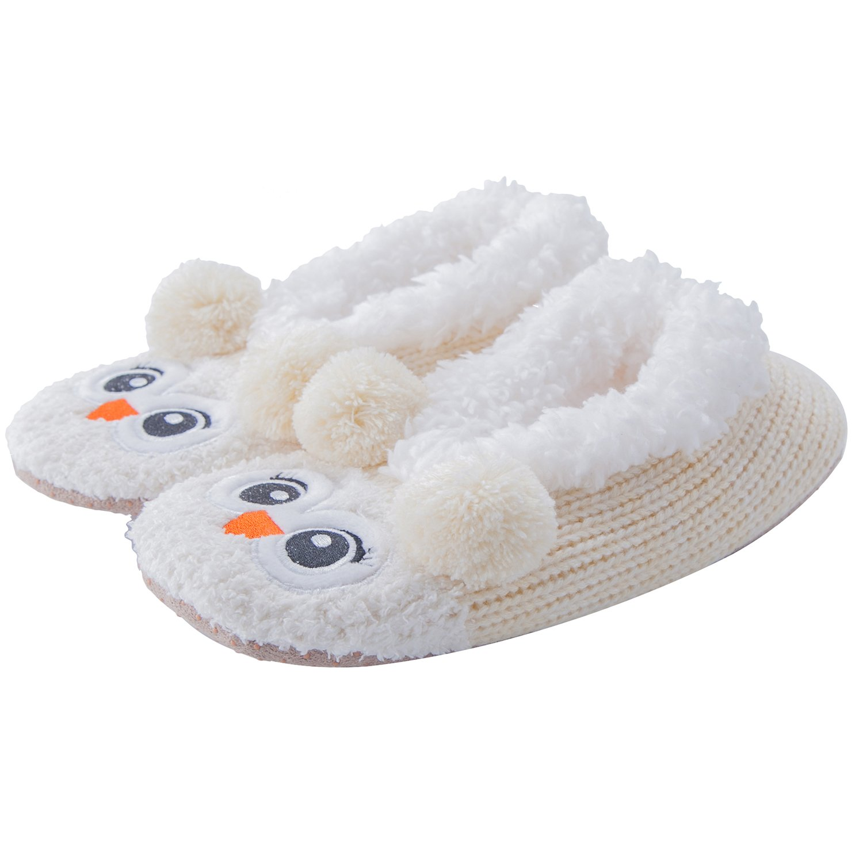 MaaMgic Womens Fuzzy Christmas Animal House Slippers Ladies Cute ...