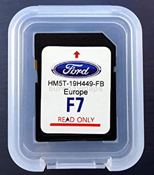 here SD CARD GPS Ford Sync2 F7 Europe 2018 - HM5T-19H449-FB