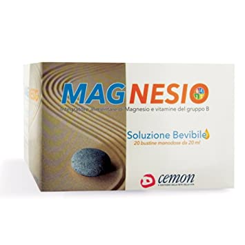 Cemon Magnesium Dietary Supplement 20 Sachets From 20ml