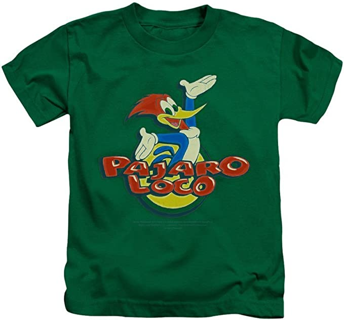 Sons of Gotham Woody Woodpecker Retro Logo Toddler T-Shirt