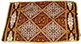 Egypt gift shops Traditional Exotic Table Cloth Multicolor Brown Checkered Printed Designs Ramadan Eid Wall Furniture Egyptian Islamic Ottoman Cairo Decorations