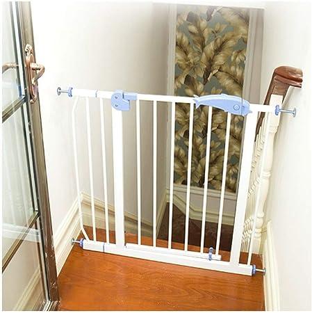 HN-Baby Gate Los Niños Ampliable Seguridad del Bebé Puertas Escalera Barra De Protección For Mascotas Cerca Altura 100 Cm Aislamiento Puerta Libre del Sacador (Color : White, Size : 280-290cm): Amazon.es: Hogar