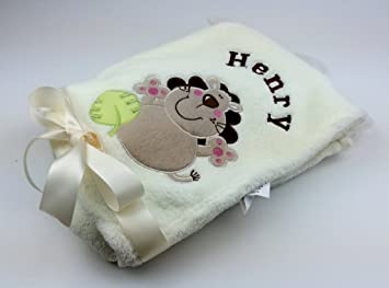 Personalised baby blanket luxurious wrap great baby gift choose personalised baby blanket luxurious wrap great baby gift choose from 6 different designs negle Choice Image