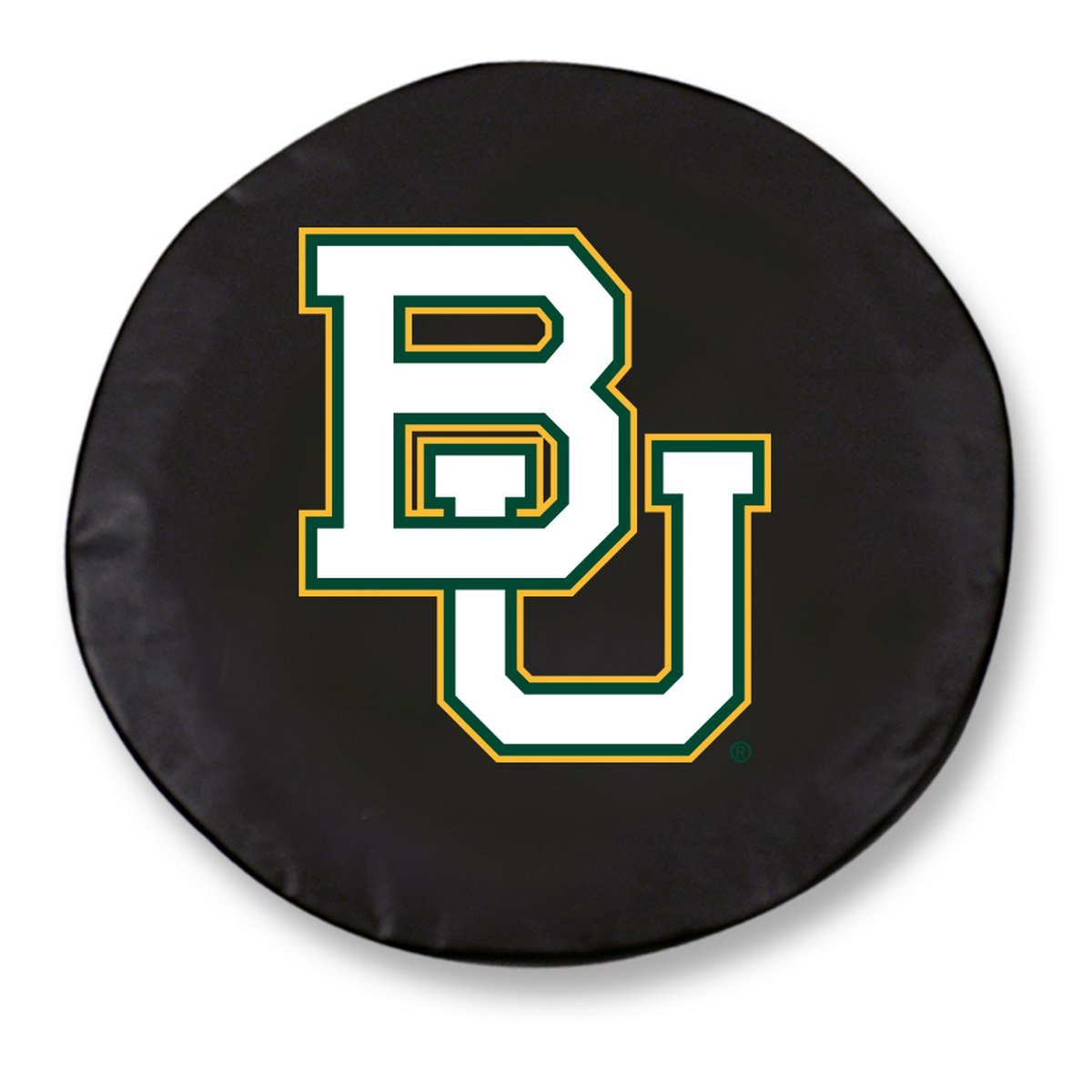 Holland Bar Stool Co.... Baylor Bears HBS Black Vinyl Fitted Spare Car Tire Cover