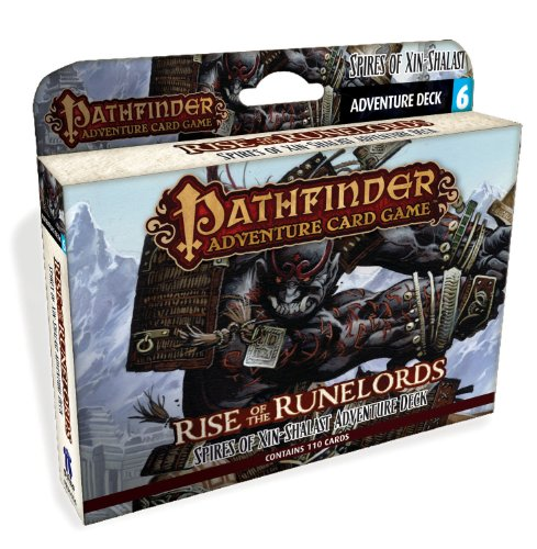 Rpg Card Game (Pathfinder Adventure Card Game: Rise of the Runelords Deck 6 - Spires of Xin-Shalast Adventure Deck)