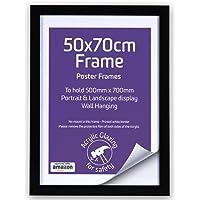 50 x 70 cm marcos de madera negro