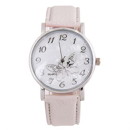 Amazon.com: Reloj de las mujeres, balakie Ladies en relieve ...