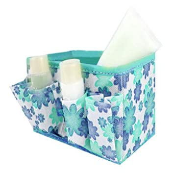 NOMENI Makeup Cosmetic Storage Box Bag Bright Organiser Foldable Container (B)