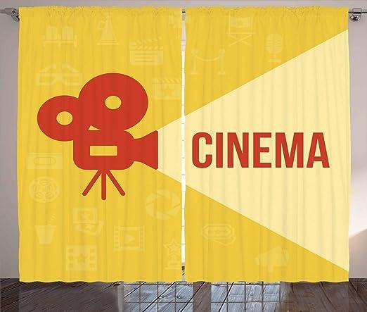 ABAKUHAUS Cine Cortinas, proyector de Diseño, Sala de Estar ...