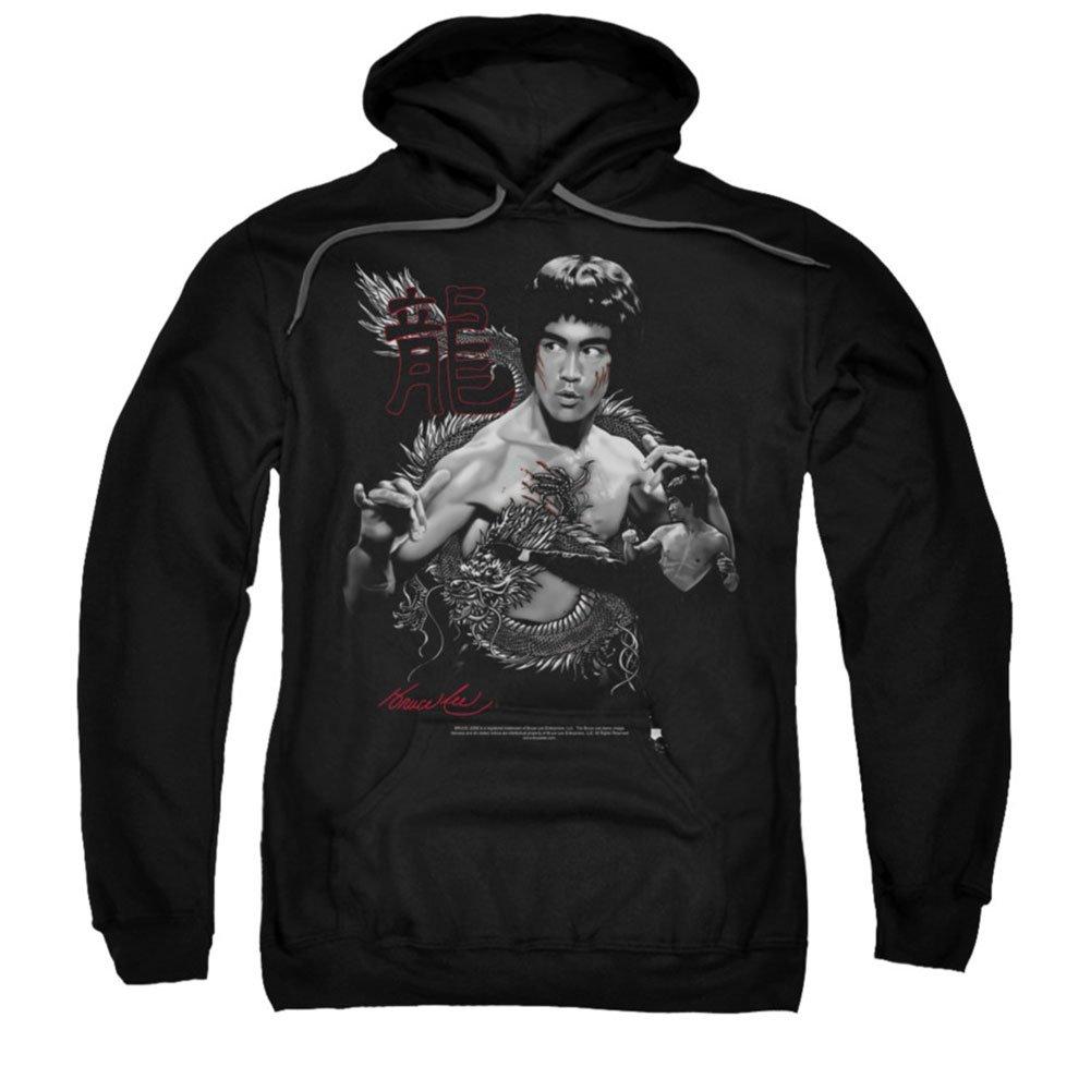 Bruce Lee - Herren Der Drache Hoodie