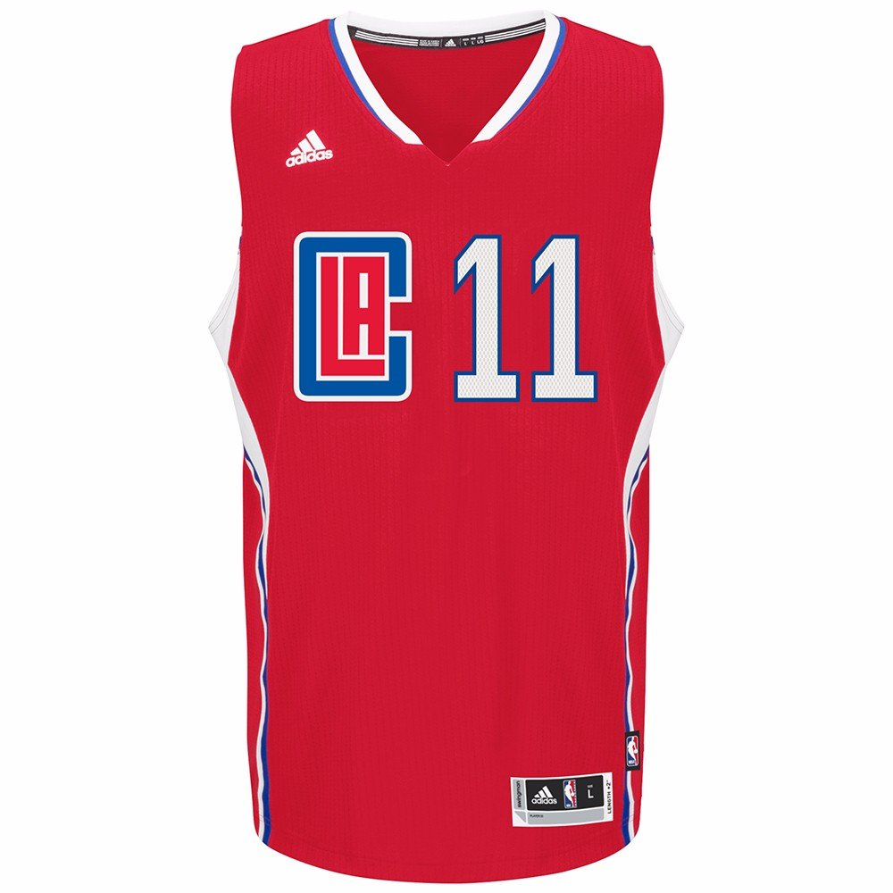 fdbf0ee96 Amazon.com   adidas Jamal Crawford Los Angeles Clippers NBA Red Official  Climacool Away Road Swingman Jersey Men   Sports   Outdoors