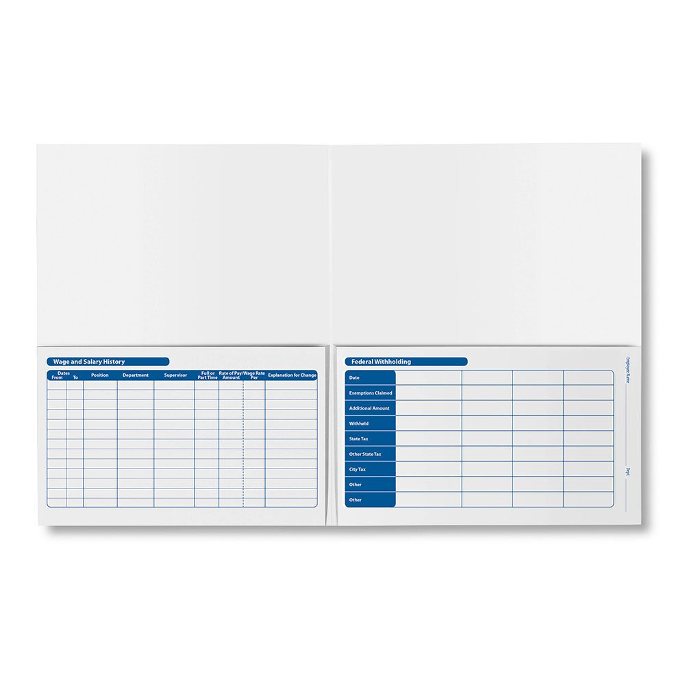 ComplyRight Confidential Payroll Folder - pricing is for Pack of 25 as that is all we currently offer by ComplyRight (Image #3)