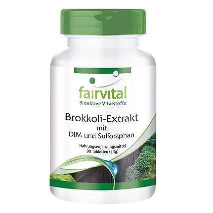 Extracto de brócoli DIM y el sulforafano - 1 mes - VEGANO - ALTA DOSIS -