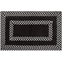 Better Trends Hercules Braided and Hand-Woven Rug, 21 by 34-Inch, Chocolate